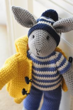 Cute Crocheted Animals – inspiration for my book                                                                                                                                                                                 More