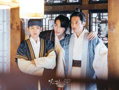 160901 #Baekhyun #KimJiSoo #YoonSeonWoo Scarlet Heart Ryeo