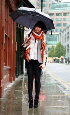 It's Pouring Style! 25 Rainy Day Street Style Photos ...