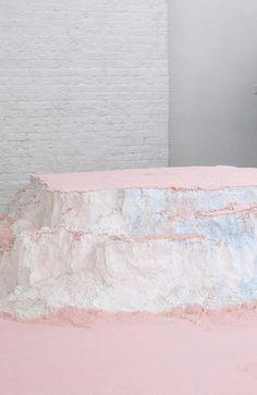 Karla Black, Modern Art, Contemporary Art, Landscape Fabric, Black Artists, Installation Art, Fine Art Photography, Art Inspo, Art Lessons