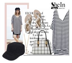 """Shein"" by samketina ❤ liked on Polyvore featuring Arco, Abercrombie & Fitch, ALDO, Minor Obsessions and Black Rivet"