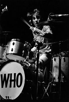 Keith Moon / The Who - Monterey Pop - Elaine Mayes - 1967 Source/Credit: http://www.elainemayesphoto.com/