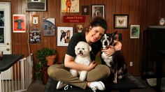 Dog groomer and comedian Jess Rona transforms her four-footed clients into the stars of their own music videos.