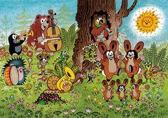 KRTEK A OSLAVA – promítání kina pro předškoláky Tuber Simulator, The Mole, Czech Republic, Cute Cartoon, Bowser, Character Inspiration, Disney, Illustration, Fairy Tales