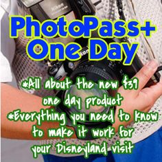 All about the new one day $39 PhotoPass+ system at Disneyland. With tips on how to make it work for your trip!