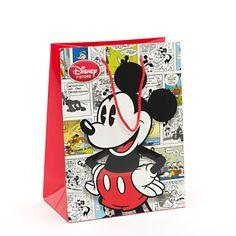 Mickey Mouse Comic Gift Bag