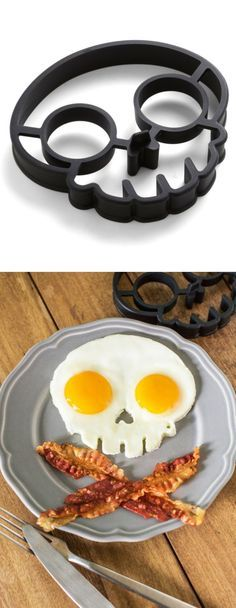 Skull egg mold - AWESOME! #product_design