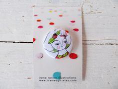 Spilla farfalla & coccinella natura pin, carina ragazza pulsante di ireneagh su Etsy https://www.etsy.com/it/listing/200348824/spilla-farfalla-coccinella-natura-pin