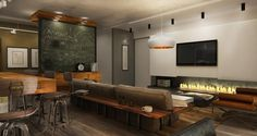 Two Homes for Stylish Young Families Who Love the Industrial Look | Décoration de la maison