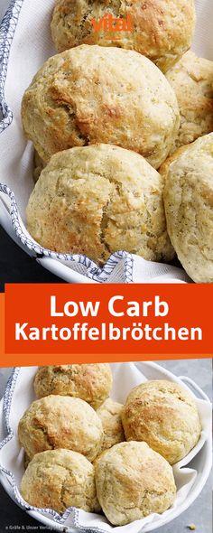 Rezept für Low Carb Kartoffelbrötchen