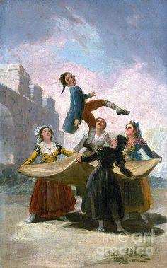 1791 Photograph - Goya: The Puppet, 1791 by Granger Francisco Goya, Dark Souls, Goya Paintings, Jean Antoine Watteau, Jean Baptiste, Art Van, Spanish Artists, Traditional Paintings, Old Master