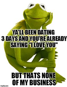 it ain't none of my business kermit - Google Search