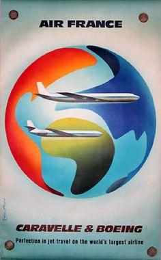 Caravelle/Boeing - Air France