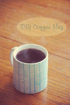 DIY Coffee Mug-possible girls retreat craft