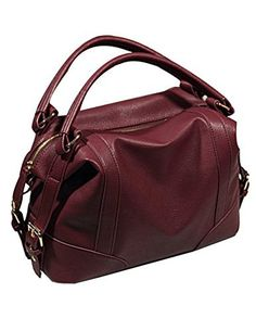 7a76cdb5f New Trending Bumbags: Menschwear Womens PU Leather Tote Shoulder Bags  Cross-Body Bags Handbag