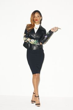 businesswoman realness... Here Are The Outtakes From Rihanna's Rolling Stone Photo Shoot