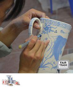 Bat Trang kan, keramiek, Vietnam, Fair Trade Original