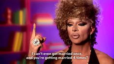 "Sometimes life isn't fair, and straight people are straight up crazy. | The 22 Most Important Life Lessons From ""RuPaul's Drag Race"""