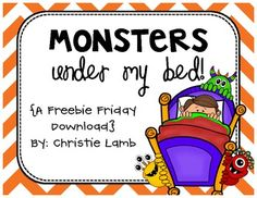 Monsters Under My Bed -  addition, subtraction