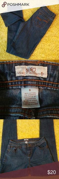 💢BUY 1 ITEM AT FULL PRICE GET 2ND 50% OFF💢 Cute SO jeans size 9 in very good condition SO Jeans Skinny