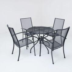 Kettler Siero met Loft strekmetalen tafel - 90cm