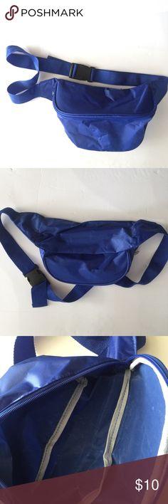 cfaf1b6a7709 Blue Fanny Waist Bag 🌊