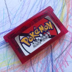 66a14efa Pokemon Ash Grey Red Shell Repro Cart for Nintendo Gameboy Game Boy  Advance. Brand new. Depop