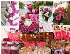 Pink Passion! Moodboard featured on hitched.co.uk