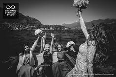 wedding boat lake como