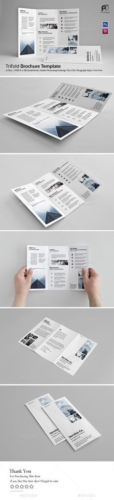 #Business Trifold Vol.10 - #Corporate #Brochures Download here:  https://graphicriver.net/item/business-trifold-vol10/19500429?ref=alena994