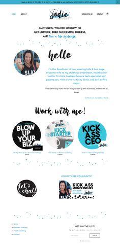 Business Coach Website Brand Branding Design Inspo Inspiration by xxobri.com Brand Styling + Design by XXOBri