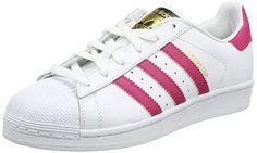 brand new f666c 28eb8 Offerta di oggi - adidas Originals Superstar Foundation Mädchen Low-Top  Sneaker, Weiß (FTWR White Bold Pink FTWR White), EU 36 a Eur.