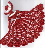 Crinolina Lady Angel - Crochetville