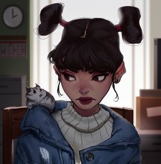 ArtStation - Twin Tails, Ilse Harting