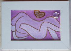013 Acrilico su cartoncino intelato, decorato con sassolino di vetro; cm 15 x 10 senza cornice; cm 18,5 x 13,5 con cornice http://www.ebay.it/itm/Lotto-di-7-quadretti-a-soggetto-amoroso-per-camera-da-letto-Acrilico-e-vetro/322743832946