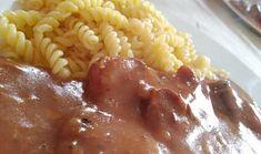 Vepřové plátky na rajčatech a červeném pepři (v pomalém hrnci) Macaroni And Cheese, Ethnic Recipes, Food, Mac And Cheese, Essen, Meals, Yemek, Eten