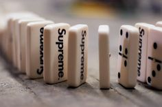 "Supreme ""Dominoes"" Video.  I'm gonna need these!!"