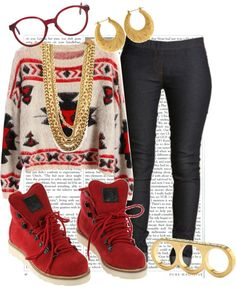 """""""It's so cold outside today."""" by cheerstostyle ❤ liked on Polyvore"""