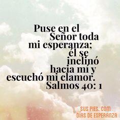 Textos poderosos de la Palabra de Dios, de la página del grupo musical Sus Pies. suspies.com