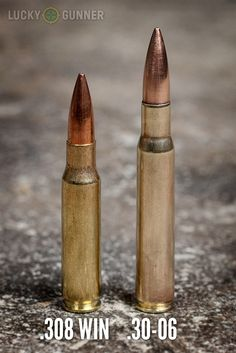 .308 Win vs .30-06 Comparison Loading that magazine is a pain! Excellent loader available for your handgun Get your Magazine speedloader today! http://www.amazon.com/shops/raeind