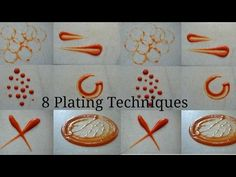 8 simple plating techniques for sauces | CHEF MRUGZIEE - YouTube