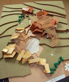 Conceptual Model Architecture, Timber Architecture, Architecture Portfolio, Concept Architecture, Architecture Design, Landscape Model, Garden Landscape Design, Plaza Design, Arch Model