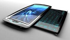 CSP – Computer System Phone, Futuristic Gadget, Future Device, Technology, Concept, Innovative, Geek, Future Mobile Phone by FuturisticNews.com