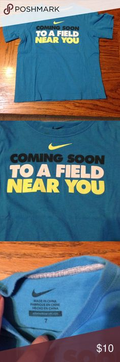 Nike shirt size 7 Excellent used condition! Nike Shirts & Tops Tees - Short Sleeve