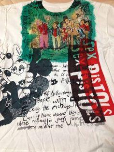 セディショナリーズ・幻の「試し刷り」Tシャツ・Pete Burns所有_画像1