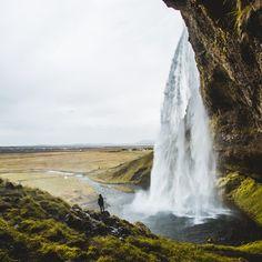 nomadsland - Seljalandsfoss, Iceland by @cmcleodweddings