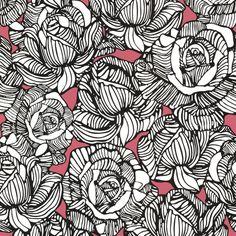 """Found it at Wayfair - Zinc Calista Modern 33' x 20.5"""" Rose 3D Embossed Wallpaper"""