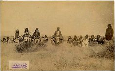 Geronimo (standing in center) and Chief Naiche (standing far right) with their Chiricahua Apache warriors. (Photo by C. Apache Indian, Native Indian, Native Art, Indian Tribes, Native American Tribes, Native American History, Native Americans, Navajo, Sioux Nation