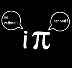 This is only funny if you know about imaginary numbers and square roots