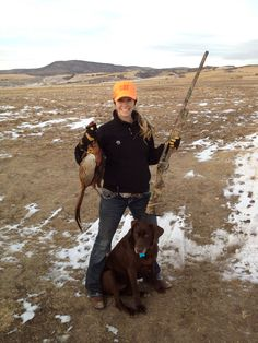 Pheasant hunting in MT